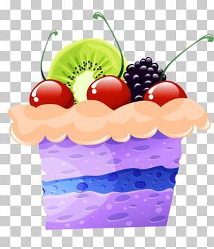 Fruitcake Tart Birthday Cake Cupcake PNG