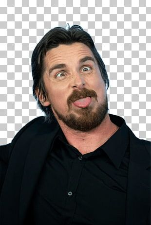 Christian Bale Funny Face PNG