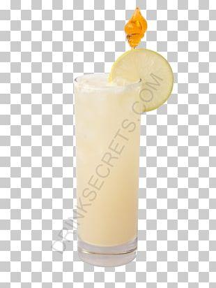 Harvey Wallbanger Piña Colada Cocktail Garnish Fuzzy Navel Batida PNG