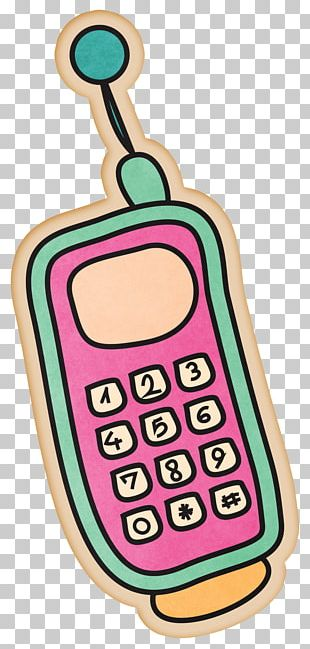 Mobile Phone Cartoon Drawing Telephone PNG