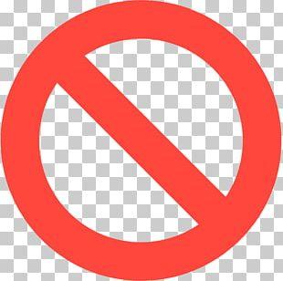 Traffic Sign No Symbol Emoji Warning Sign PNG