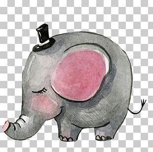 Elephant Poster Paper Baby Shower PNG