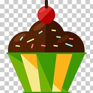 Ice Cream Cupcake Muffin Dulce De Leche Fruitcake PNG