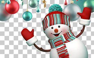 Santa Claus Paper Christmas Decoration Snowman PNG