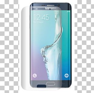 Samsung Galaxy S6 Edge Android Smartphone PNG