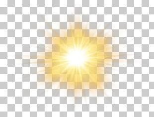 Sunlight Sky Yellow Pattern PNG