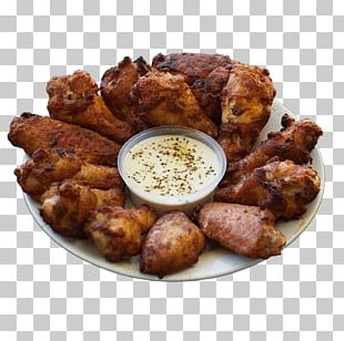 Buffalo Wing Barbecue Cuisine Of The United States Fried Chicken French Fries PNG