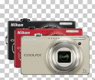 Mirrorless Interchangeable-lens Camera Nikon COOLPIX S6300 Camera Lens Point-and-shoot Camera PNG
