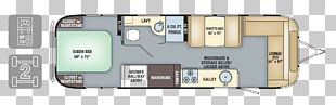 Airstream Floor Plan Caravan Campervans PNG