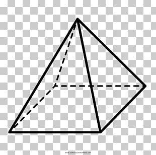 Square Pyramid Geometry Geometric Shape PNG