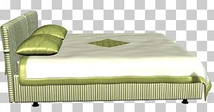 Bed Frame Mattress Foot Rests Couch PNG