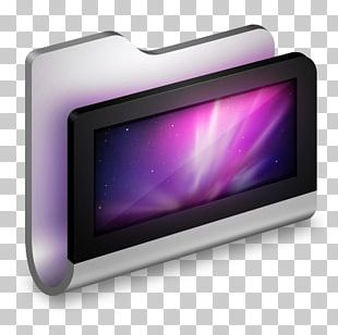 Purple Display Device Multimedia PNG