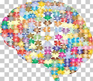Jigsaw Puzzles Brain Mapping Cerebral Cortex Human Brain PNG