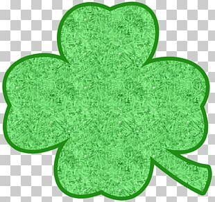 Shamrock Four-leaf Clover Ireland Saint Patrick's Day PNG