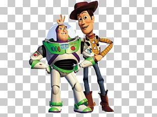 Toy Story Buzz Lightyear Sheriff Woody Jessie Pixar PNG