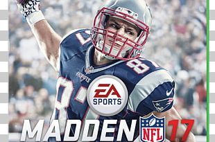 Madden NFL 17 New England Patriots PlayStation 4 Tight End PNG
