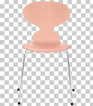 Ant Chair Model 3107 Chair Table Fritz Hansen PNG