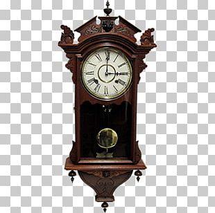Floor & Grandfather Clocks Antique Wall Pendulum Clock PNG