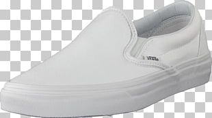 Shoe Shop Vans White Slip-on Shoe PNG