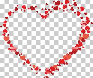 Valentine's Day Heart Gift PNG