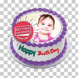 Birthday Cake Teacake Sponge Cake Frosting & Icing Torte PNG