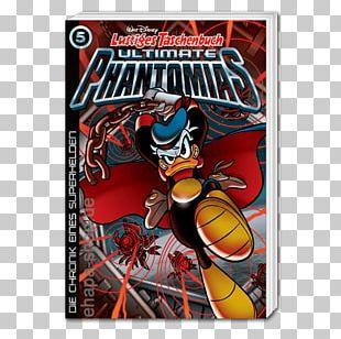 Donald Duck Pocket Books Superhero Comic Book PNG