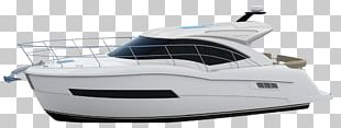 Luxury Yacht Ship Model Boat PNG