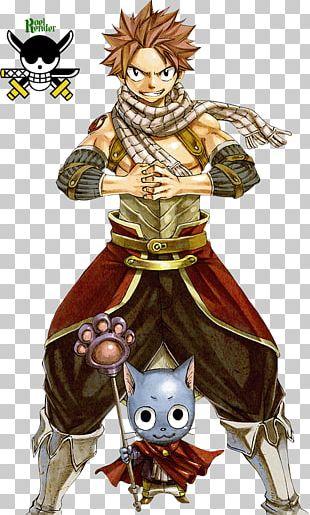 Natsu Dragneel Happy Erza Scarlet Fairy Tail Dragon Slayer PNG