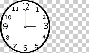 Clock Face Alarm Clocks Digital Clock Flashcard PNG