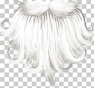 Santa Claus Beard Christmas PNG