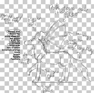 Deer Horse Line Art Pack Animal Sketch PNG