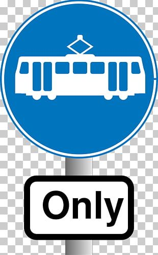 Edinburgh Trams Bus Manchester Metrolink Traffic Sign PNG