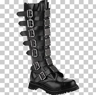 Knee-high Boot Shoe Fashion Boot PNG