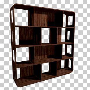 Shelf Bookcase House Room Furniture PNG