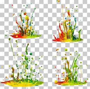 Pigment Color Paint Ink PNG