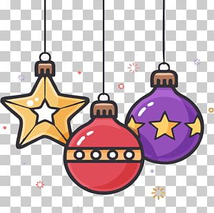 Sphere Christmas Ornament Ball PNG