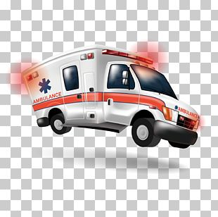 Ambulance Cartoon Emergency Medical Technician Paramedic PNG