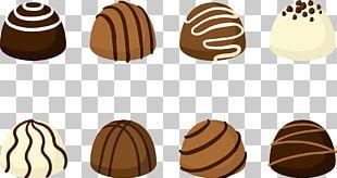 Chocolate Truffle Bonbon Praline Pain Au Chocolat PNG