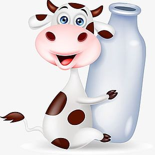 Milk Cow PNG