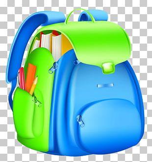 School Backpack PNG