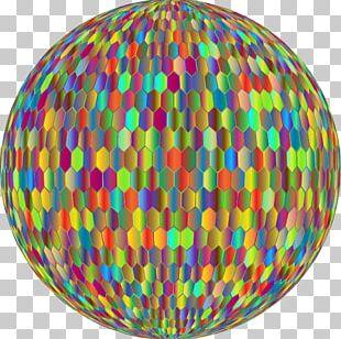 Sphere Hexagonal Tiling Circle PNG