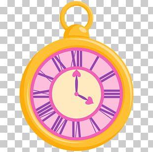 Alice's Adventures In Wonderland Digital Clock The Mad Hatter Art PNG