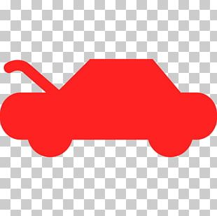 Red Green White Light Car PNG