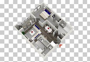 Studio Apartment House Bedroom PNG