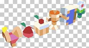 Triangle Polycount Toy Block Low Poly PNG
