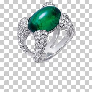 Emerald Turquoise Body Jewellery Silver PNG