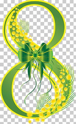March 8 International Women's Day Ansichtkaart Woman PNG