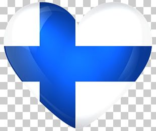Flag Of Finland Heart National Flag PNG