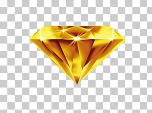 Gold Diamond Mong La Yellow PNG