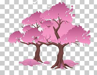 National Cherry Blossom Festival Tree PNG